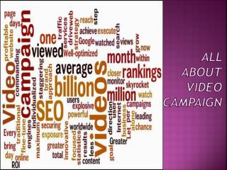 All About Video Campaign