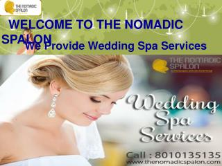 Wedding Spa Services