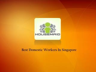 Fdw agency in singapore