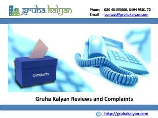 Gruha Kalyan Complaints