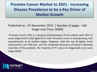 Key Factors for Prostate Cancer(PC) Market Growth 2021