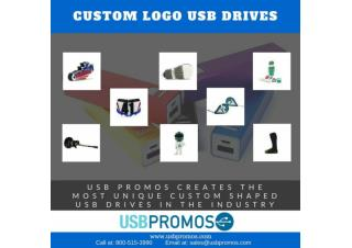 Custom Logo Shape USB Drives