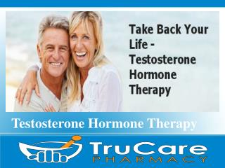 Low Testosterone Therapy By TruCare Pharmacy