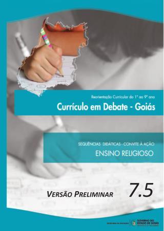 Caderno de ensino religioso