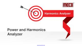 Power and harmonics analyzer