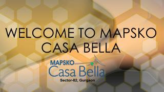 3 bhk apartments in gurgaon - mapsko casa bella