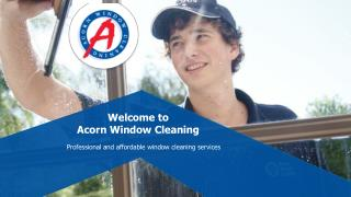 Commercial Window Cleaning Service in Melbourne