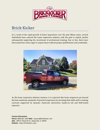 Brick Kicker
