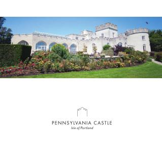 Pennsylvania Castle - Luxury Castle Hotels in Portland Dorset UK