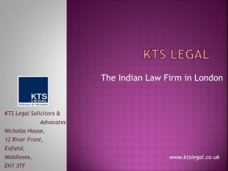 Indian Law Firm in London