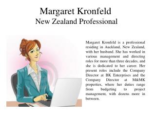 Margaret Kronfeld New Zealand Professional