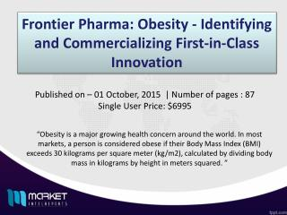 Future Market Trends of Obesity Market Till 2021