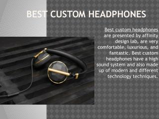 Promotional Headphones