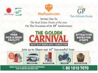 """The Golden Carnival"" on 12th & 13th March"