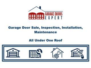 Garage Door Expert - Toronto, Mississauga, Richmond Hill