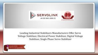Digital Voltage Stabilizer Manufacturers