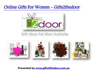 Unique Gift Ideas for Men and Women Online in Australia - Gifts2thedoor