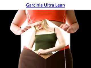Garcinia Ultra Lean