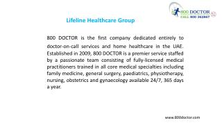 Lifeline healthcare group