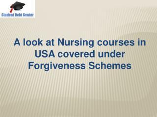 Nursing Loan Forgiveness Program