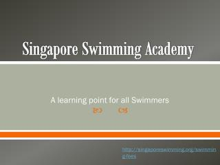Adult Swimming Classes - Singapore Swimming Academy