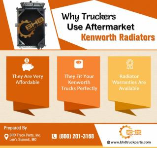 Why Truckers Love Our Aftermarket Kenworth Radiators