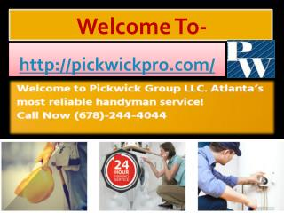 Handyman Services In Atlanta GA