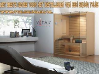 Het beste advies voor het installeren van een sauna thuis