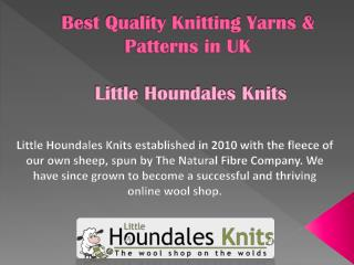 Best Quality Knitting Yarns & Patterns in UK