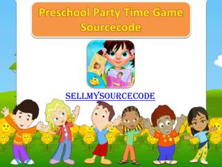 Preschool Party Time Game Sourcecode