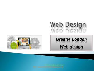 Greater London web design
