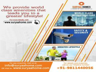 Fully furnished 2 BHK flats in Dwarka by Suryaa Homes