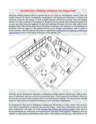 Architecture Making Solutions Are Important.pdf
