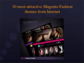 10 Attractive Magento Fashion Themes