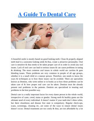 Dental Care Reading - Affordable Dental Solutions.pdf