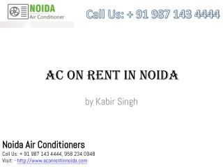 AC ON Rent in Noida - Best & Branded Air Conditioners
