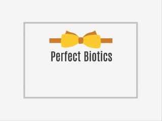 Perfect Biotics Probiotic Supplement