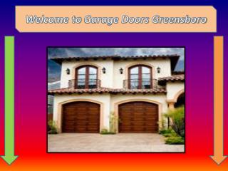 Garage Door Repair Company Greensboro