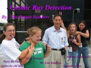 Cosmic Ray Detection