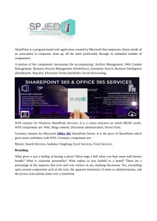 Importance of SharePoint Branding