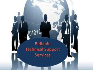 Reliable Technical Support Services