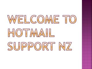 Secure Your Computer From Hackers With The Help Of Hotmail Support NZ Number
