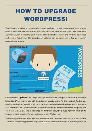A guide for WordPress beginners