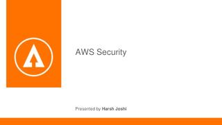 Overview of AWS Security