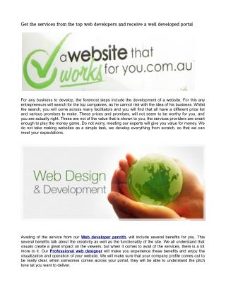 Optimizes your business with Our Professional website designer