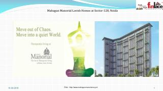 Mahagun Manorial Homes in Sector 128 Noida