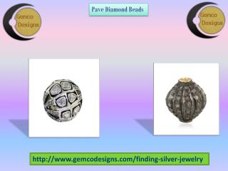 Select Your Pave Diamond Beads | Gemco Designs