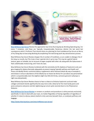 http://www.thecrazymass.com/new-brilliance-eye-serum/