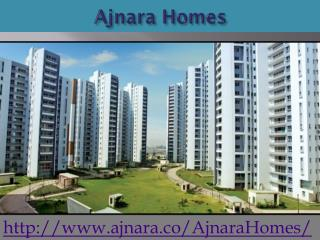 Ajnara Homes With High Class Facility