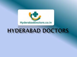 List of Doctors In Hyderabad | Hospitals in Hyderabad | Clinics in Hyderabad � Hyderabad Doctors